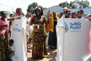 The Water Project:  Councilor Fatmata Akai Making Statement