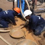 The Water Project: 45 Main Motor Road, The Redeemed Christian Church of God -  Drilling