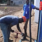 The Water Project: 45 Main Motor Road, The Redeemed Christian Church of God -  Ground Breaking