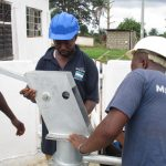The Water Project: 45 Main Motor Road, The Redeemed Christian Church of God -  Pump Installation