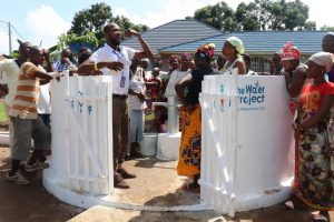 The Water Project:  Staff Train On Caring For The Well