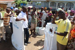 The Water Project:  The Church Pastor Dedicating The Well