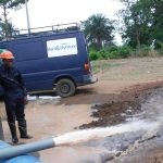 The Water Project: 45 Main Motor Road, The Redeemed Christian Church of God -  Yield Test