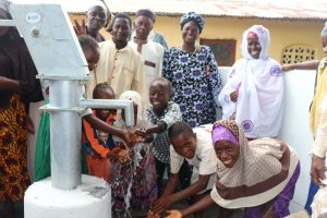 The Water Project:  Children Playing With Clean Water