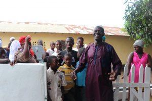 The Water Project:  Community Headman Making Statement