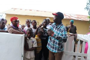 The Water Project:  Councilor Abu Bakarr Koroma Making Statement