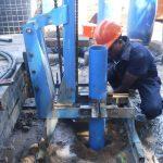 The Water Project: Tholmossor, Masjid Mustaqeem, 18 Kamtuck Street -  Drilling