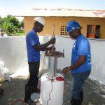 The Water Project: Tholmossor, Masjid Mustaqeem, 18 Kamtuck Street -  Pump Installation