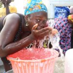 The Water Project: Targrin Health Post -  Clean Water
