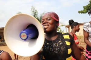 The Water Project:  Community Member Leading A Song