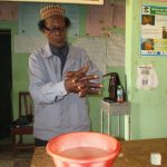 The Water Project: Targrin Health Post -  Handwashing Demonstration