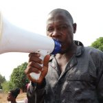 The Water Project: Targrin Health Post -  Ibrahiiim Kamara Making Statement