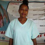 The Water Project: Targrin Health Post -  Nurse Hulamatu Sesay