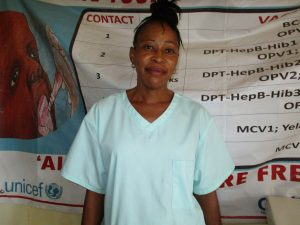 The Water Project:  Nurse Hulamatu Sesay
