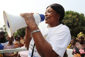 The Water Project:  Nurse Hulamatu Sesay Giving Speech