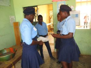The Water Project:  Students Participate In Training