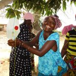 The Water Project: Targrin Health Post -  Using The Tippy Tap