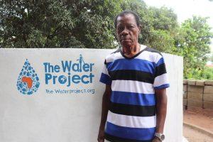 The Water Project:  Richmond Samuel Ndowu