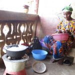 The Water Project: Lungi, Masoila, #3 Kamara Street -  Yamina Conteh Cooking