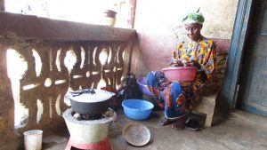 The Water Project:  Yamina Conteh Cooking