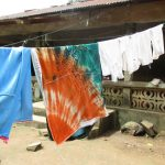 The Water Project: Lungi, Lungi Town, Holy Cross Primary School -  Clothesline