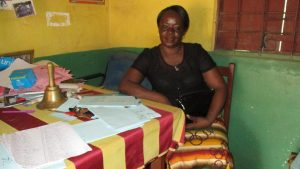 The Water Project:  Mariatu A Gbla Deputy Head Teacher