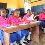 The Water Project: Lungi, Lungi Town, Holy Cross Primary School -  Pupils In Class