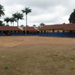 The Water Project: Lungi, Lungi Town, Holy Cross Primary School -  School Grounds