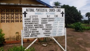 The Water Project:  Church Sign Board