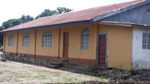 The Water Project:  Side Of Church Building