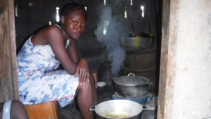 The Water Project:  Young Lady Cooking