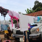 The Water Project: DEC Mahera Primary School -  Clothesline