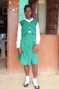 The Water Project:  Isatu F Swaray School Head Girl