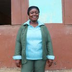 The Water Project: DEC Mahera Primary School -  Mrs Haja Kadijah Kamara