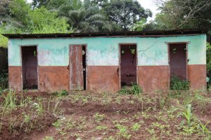 The Water Project:  Old School Latrine