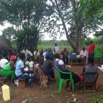 The Water Project: Rubana Yagilewo Community -  Community Members At The Training