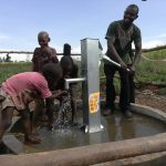 The Water Project: Rubana Yagilewo Community -  Kids At The Well
