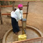 The Water Project: Rubana Yagilewo Community -  Kunihira Roselyne At The Well