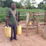 The Water Project: Rubana Yagilewo Community -  Kyaligonza Vincent At The Water Well