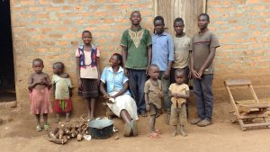 The Water Project:  Kyaligonza Family