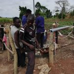 The Water Project: Rubana Yagilewo Community -  Pump Installation