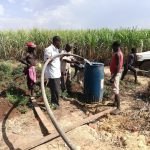 The Water Project: Rubana Yagilewo Community -  Yield Test