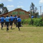 The Water Project: Malinda Secondary School -  Students Run To Class After A Short Break