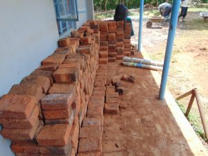 The Water Project:  Bricks Ready For Work