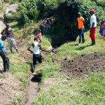 The Water Project: Chegulo Community, Sembeya Spring -  Site Clearnce