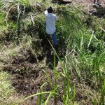 The Water Project: Bungaya Community, Charles Khainga Spring -  Site Clearance Before Construction