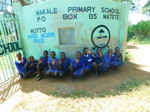 The Water Project:  Students Pose In Front Ot Schools Gate