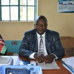 The Water Project: Ebubole UPC Secondary School -  Principal Macdaff Lutomia Wamalwa