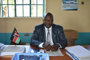 The Water Project:  Principal Macdaff Lutomia Wamalwa