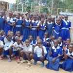 The Water Project: Mutiva Primary School -  Students At The School Gate